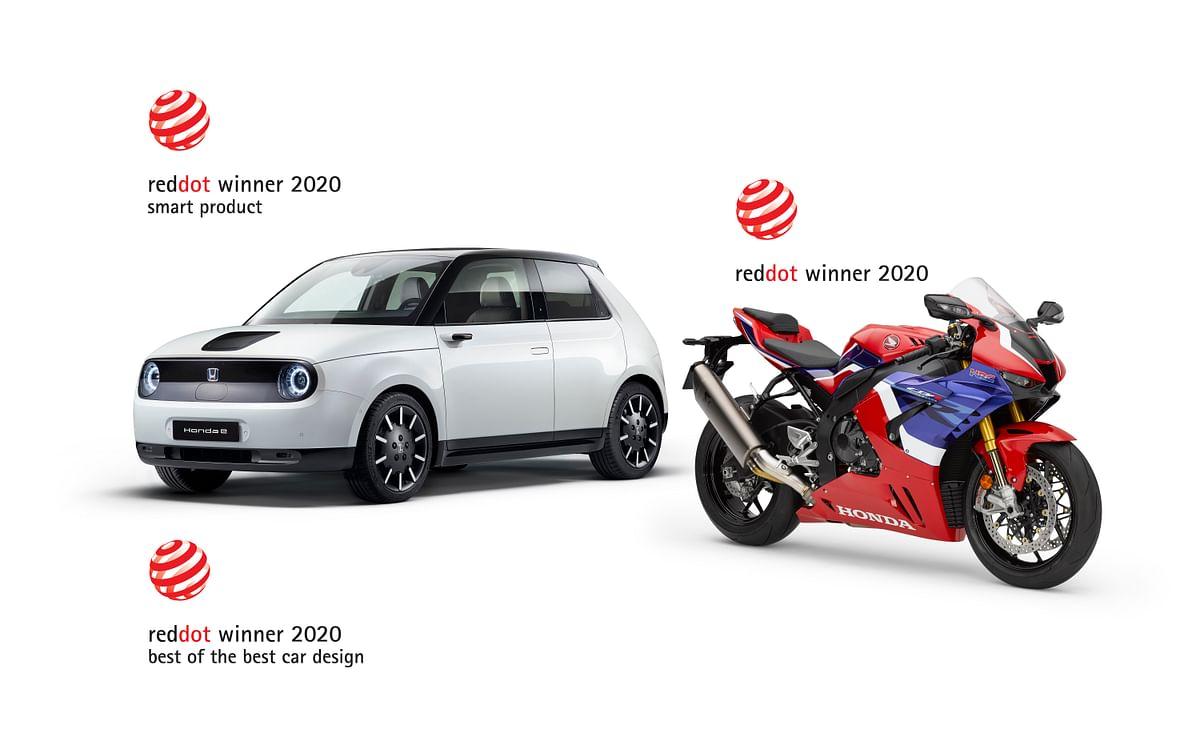 Honda wins three Red Dot Design Awards, including 'Best of the Best' for the Honda e