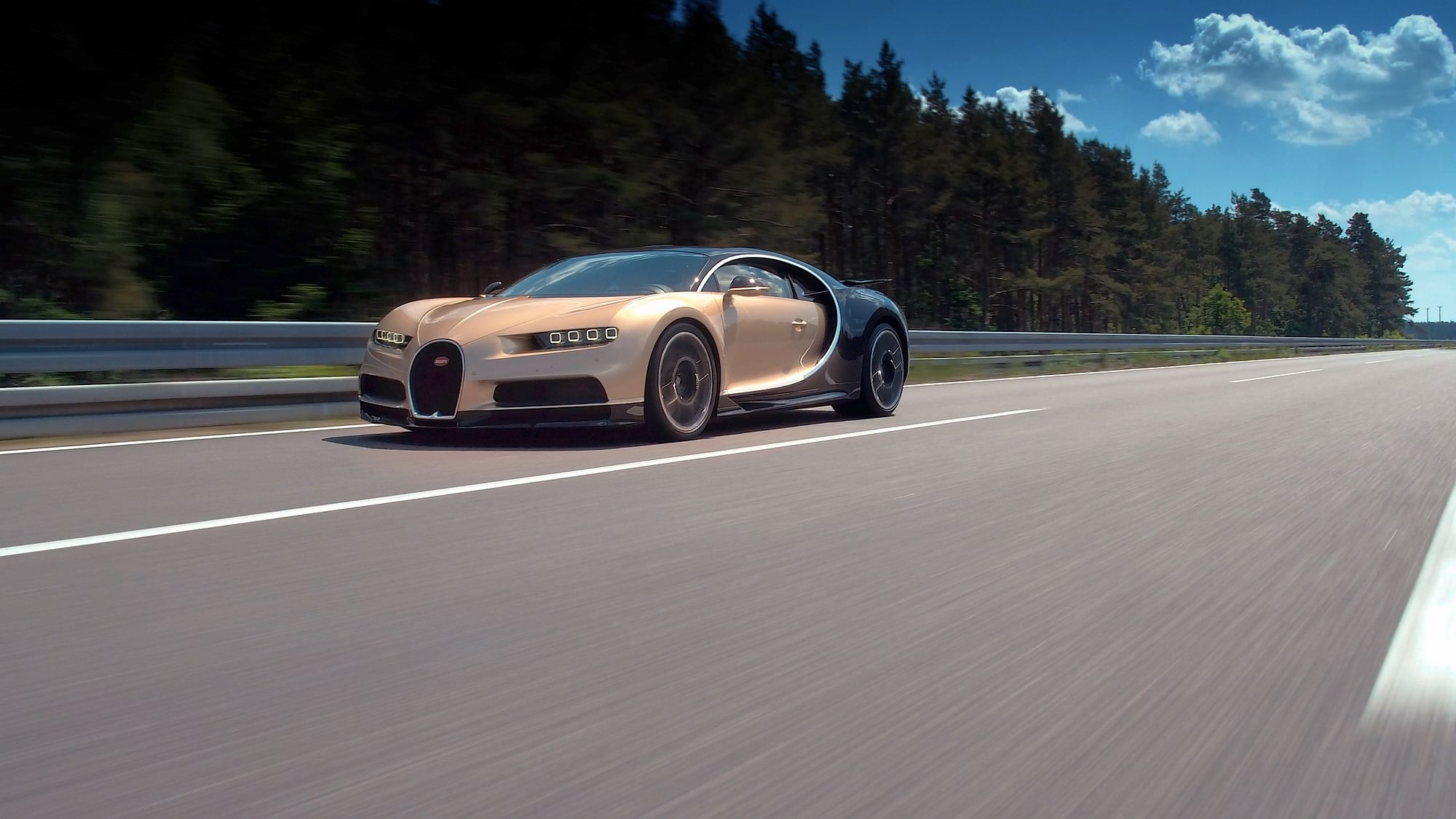 Bugatti Test Driver Andy Wallace Demonstrates The Chiron S Capabilities