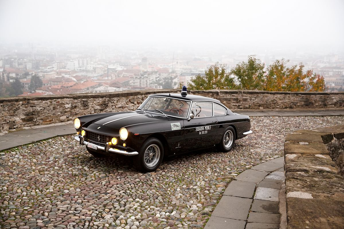 The world's most glamorous police car is for sale