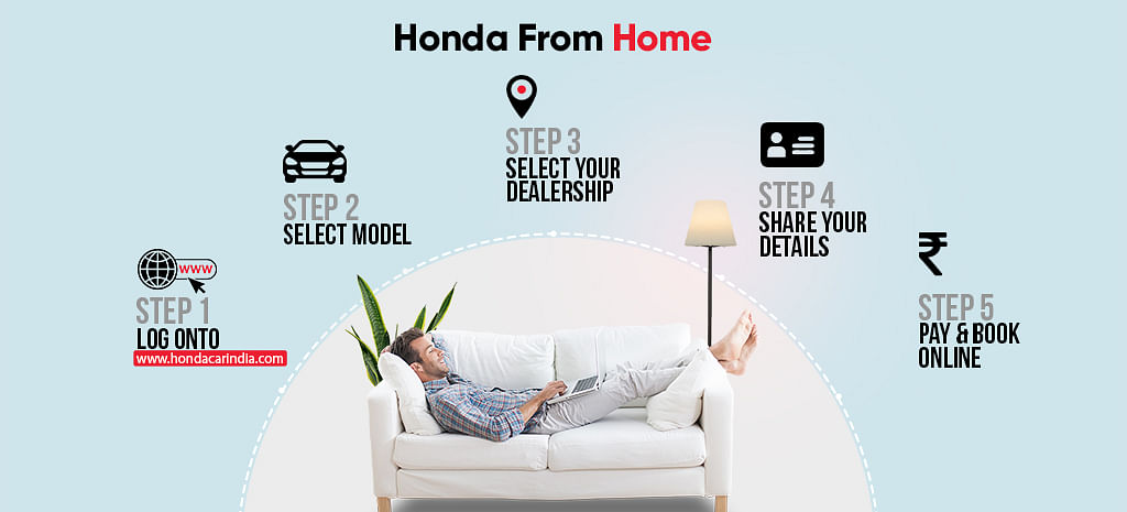 Honda Cars India has launched its campaign Honda From Home, an initiative featuring an online digital platform that offers car-buying solutions for its prospective customers who want to purchase a Honda product
