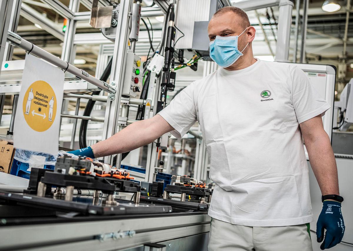 Skoda reopens its Mlada Boleslav factory