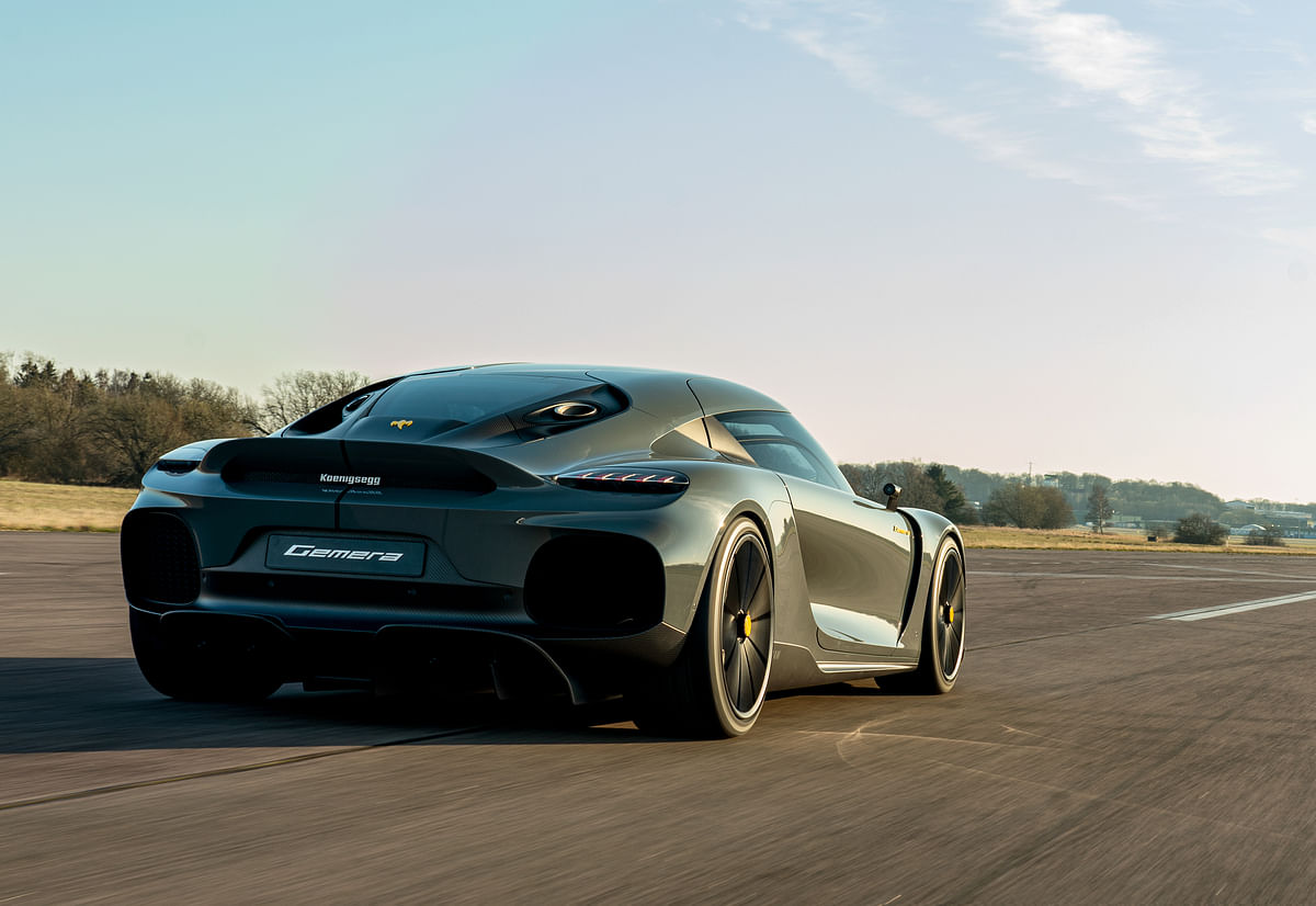 Koenigsegg took the Gemera out on track recently