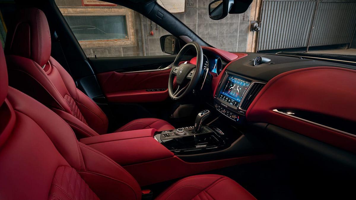 Novitec Maserati Levante -interior