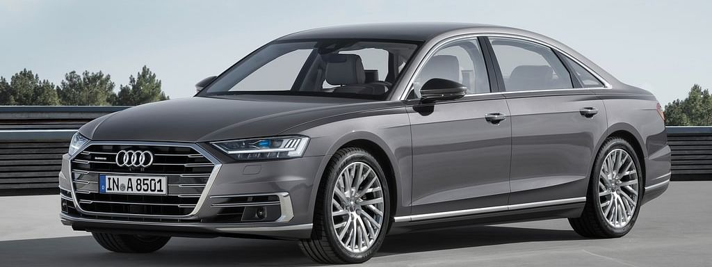 Fourth generation of Audi A8 L