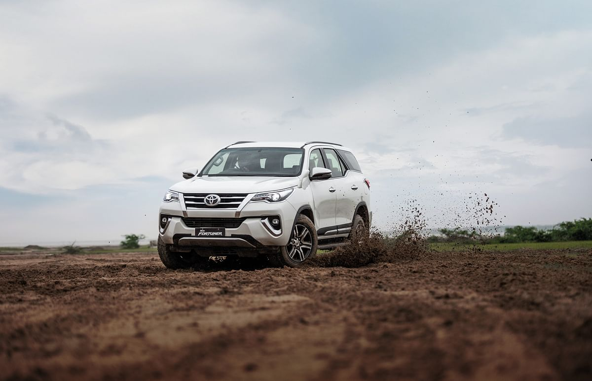 We drove the Toyota Fortuner to a wet Rann of Kutch last monsoon