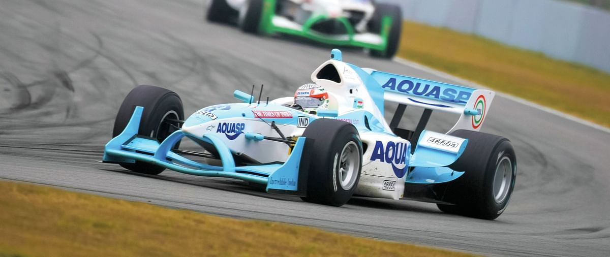 Narain's appetite for single-seaters was back with a vengeance in 2014.