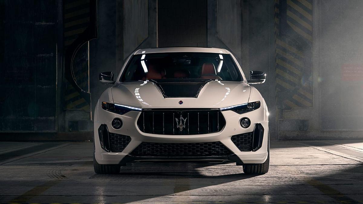 Novitec Maserati Levante -front