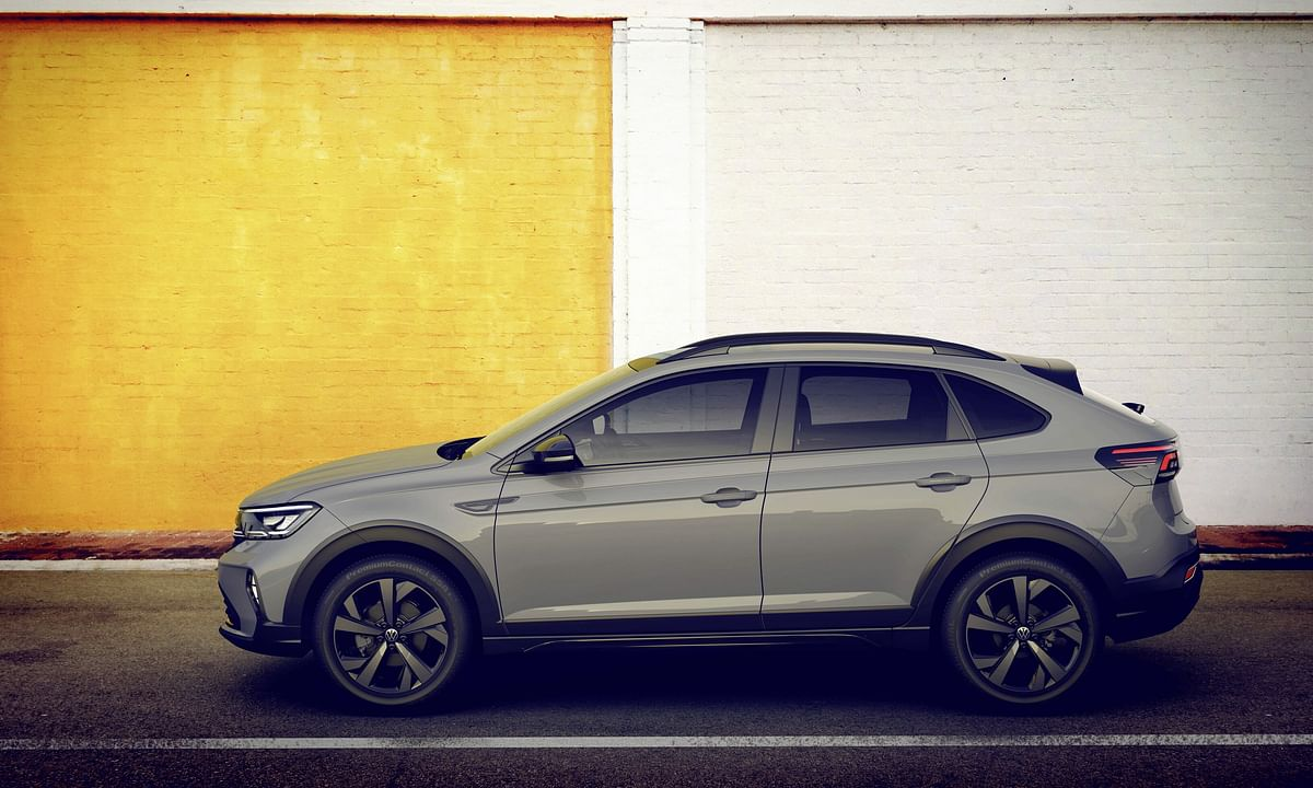 Volkswagen showcases its first coupe-SUV, the Nivus