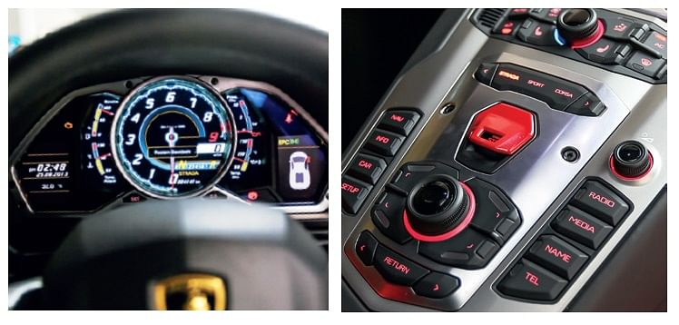 Fighter jets have inspired the interior. Flip the red flap to hit the starter button, dial in the co-ordinates and attack