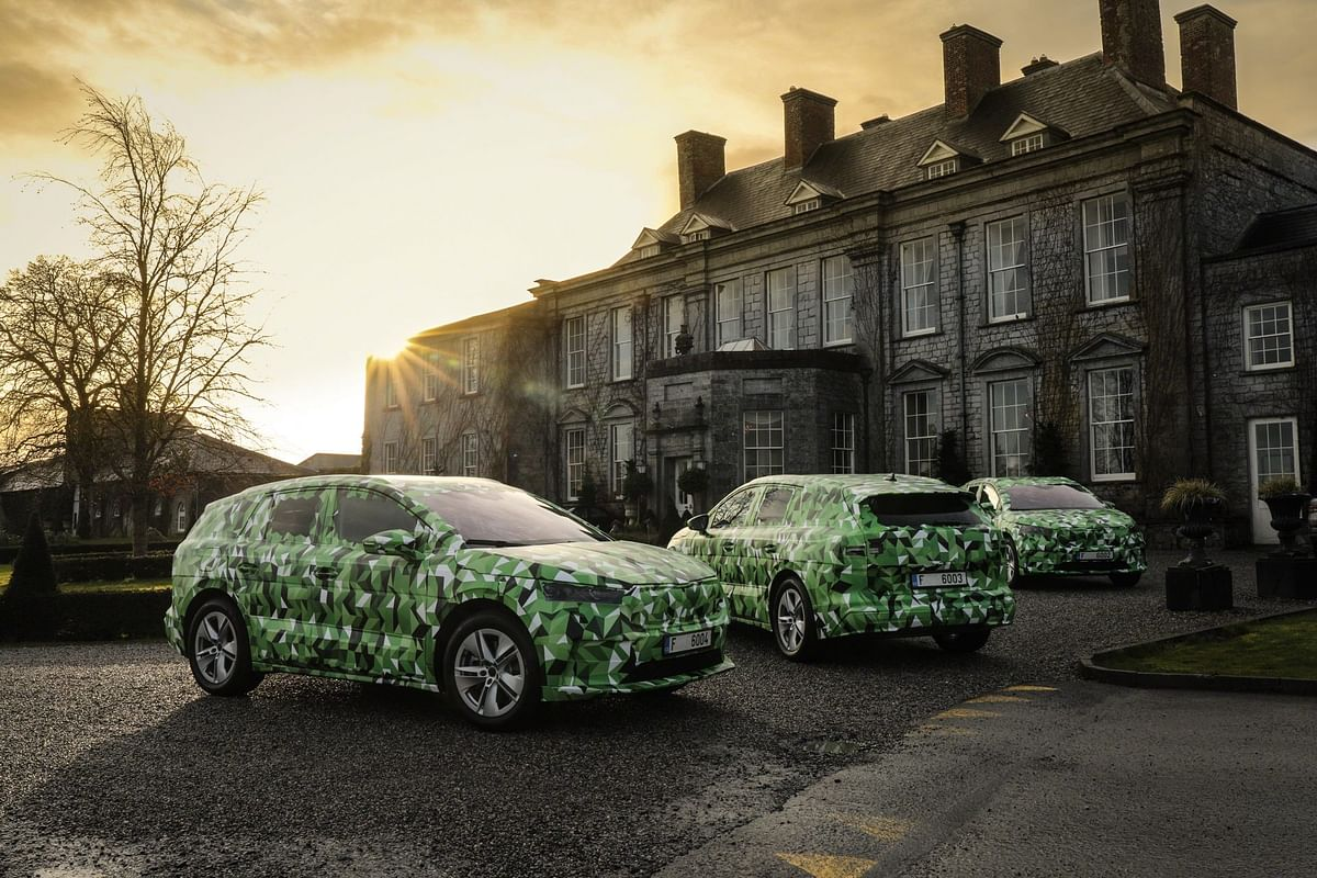 The camouflaged car in the photos means that we know very little about the design of the car apart from the size and body style that it will have.