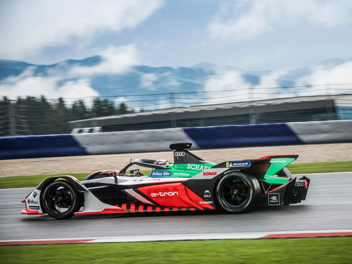 "Daniel Abt finished third in the fifth round of the Formula E's sim racing series that commenced on Saturday but was disqualified due to ""sporting misconduct""."