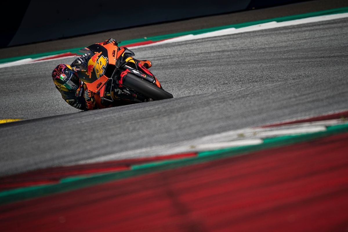 Pol Espargaro private test at Red Bull Ring