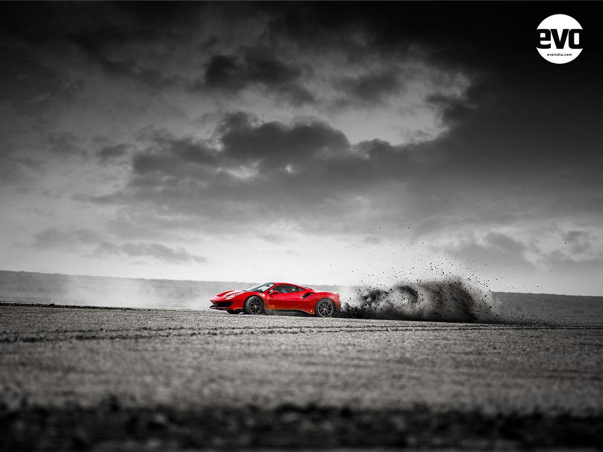 Image Gallery   Ferrari 488 Pista in the Rann of Kutch