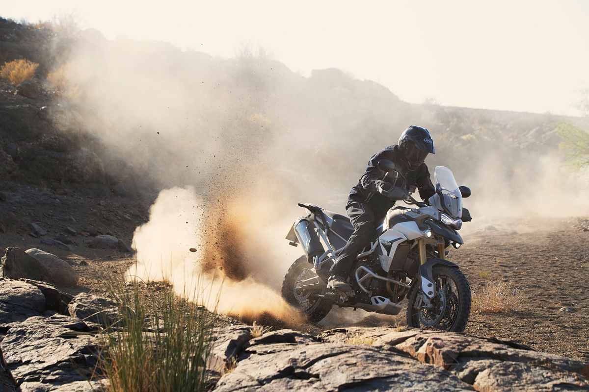 The changes to the Tiger 900 are very extensive