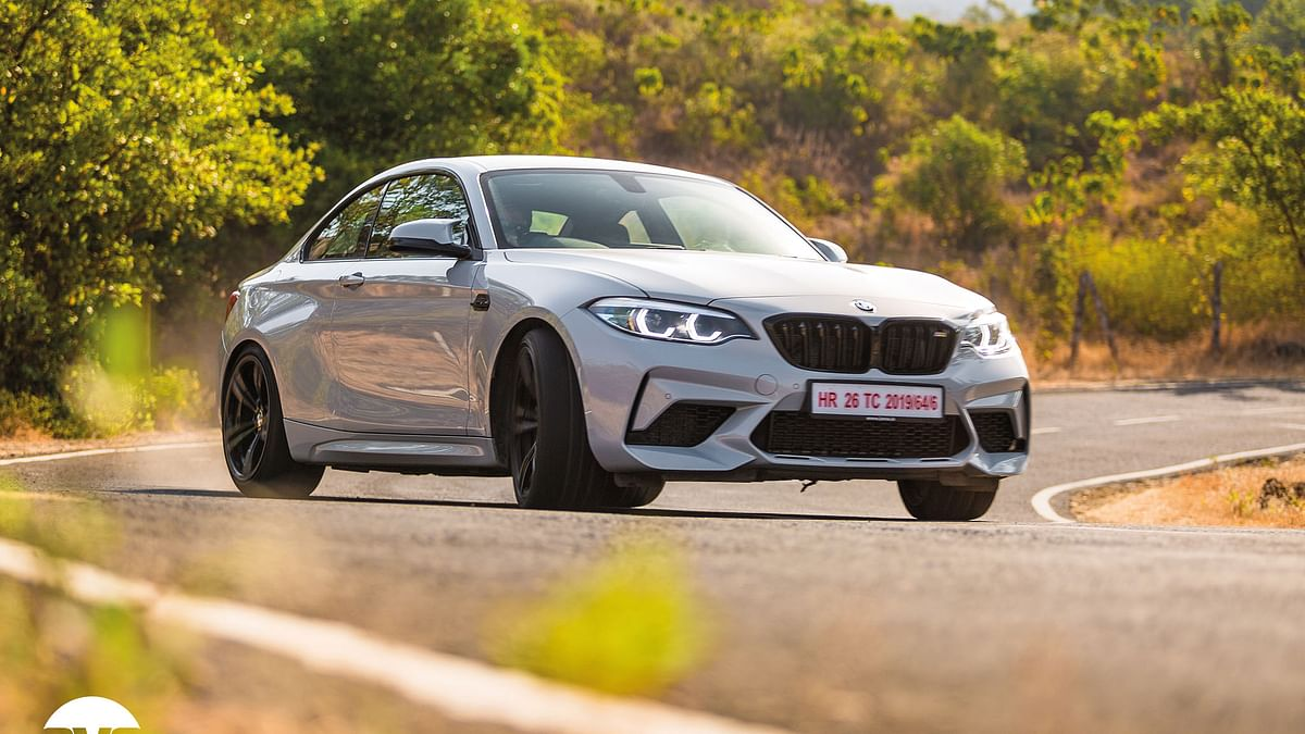 The 410hp BMW M2 Competition is powered by a 3-litre turbocharged six-pot engine