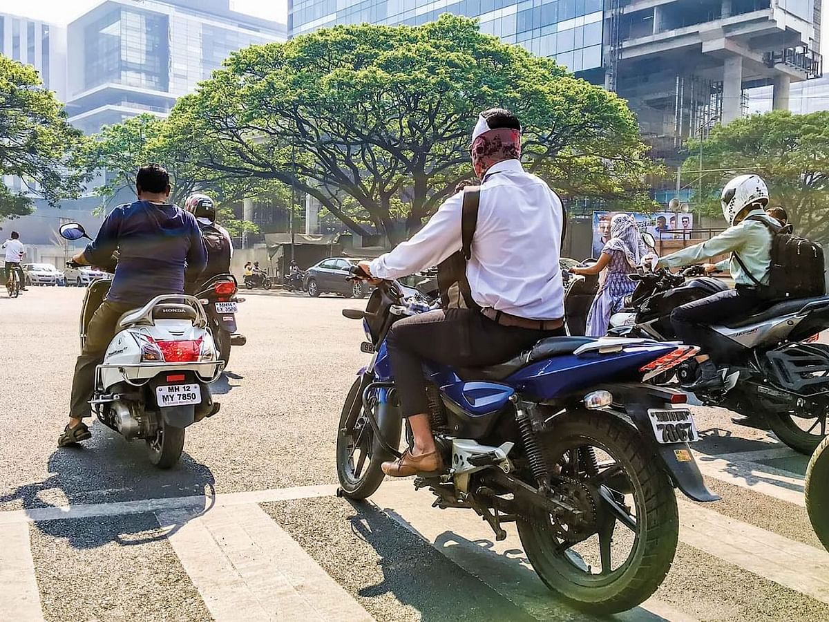 Why motorcycles play an important role during the lockdown?