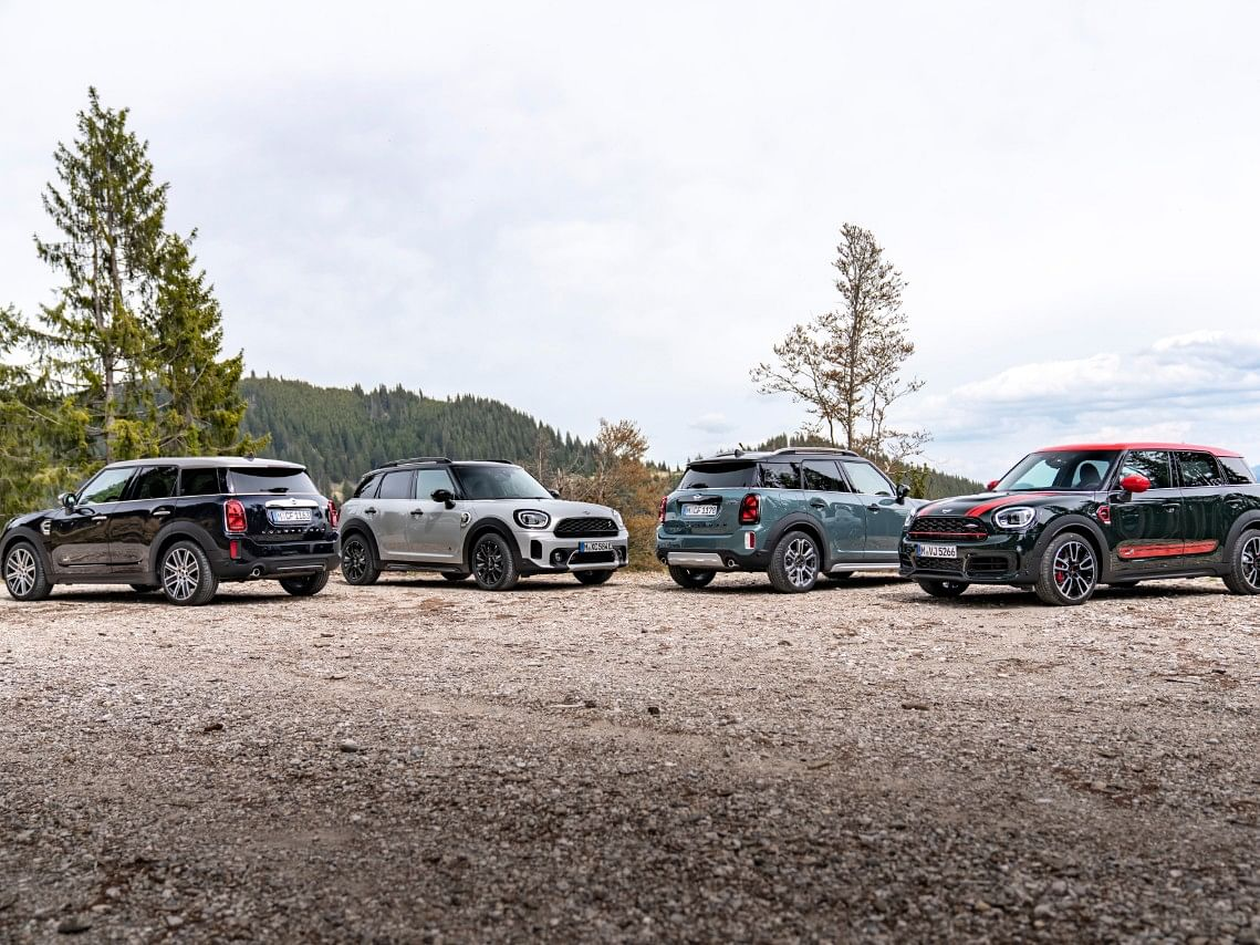 The Countryman is being offered with four different powertrains.