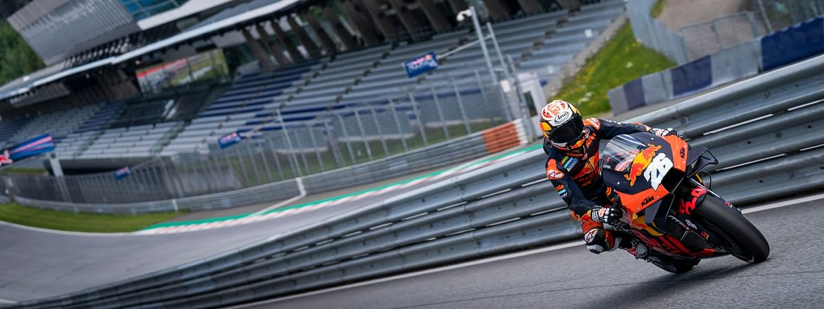 Dani Pedrosa private test at Red Bull Ring