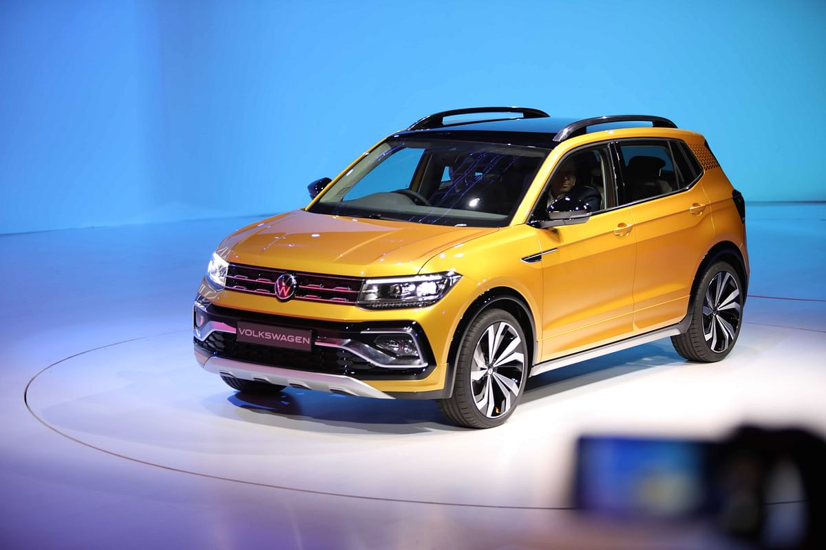Volkswagen Taigun unveiled a day ahead of the Auto Expo 2020