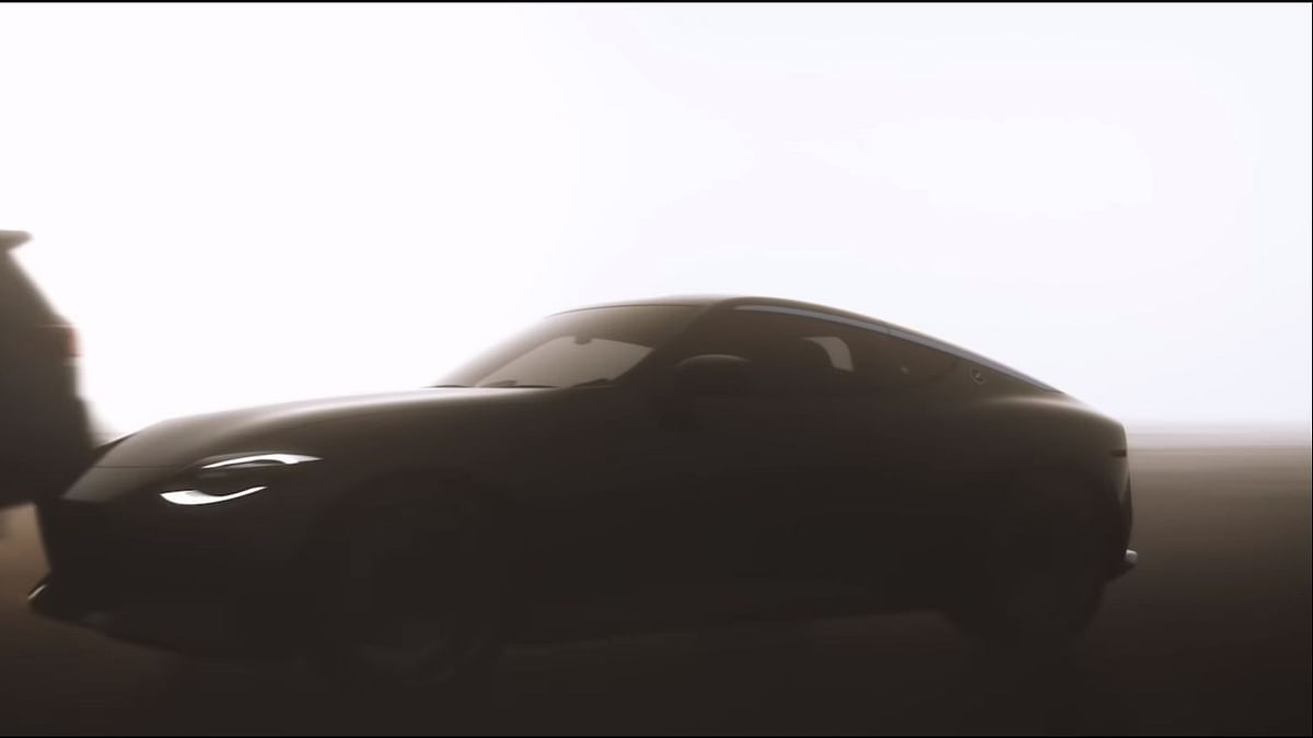 Nissan teases upcoming 'Z' sportscar