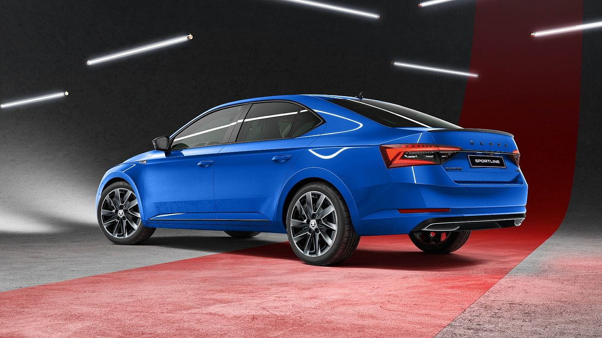 The 2020 Superb will be powered by a 2-litre TSI