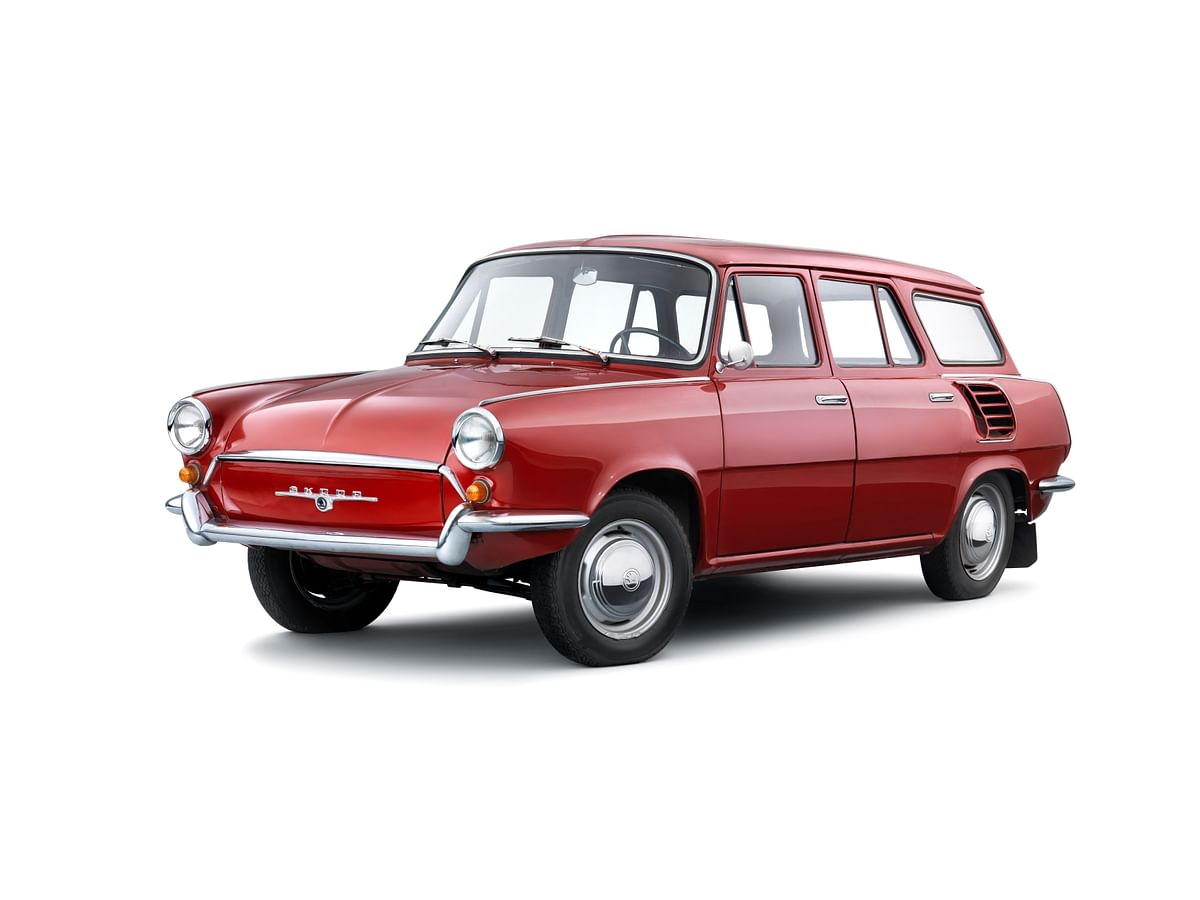 Lesser-known models from Skoda Auto's 125-year history – The Skoda Type 990 estate prototype