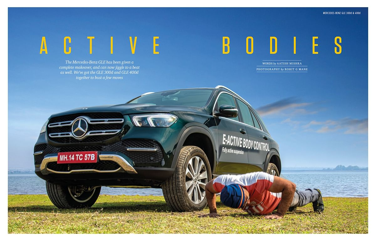 Who's winning? Our muscleman or the GLE 400d?