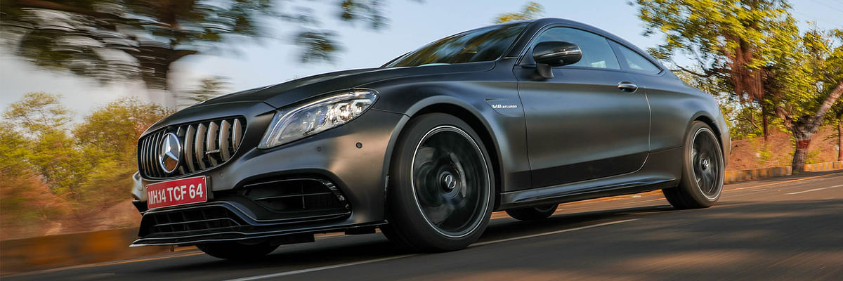 Mercedes-AMG C 63 Coupe Review: Does dropping the 'S' from its name make it tame?