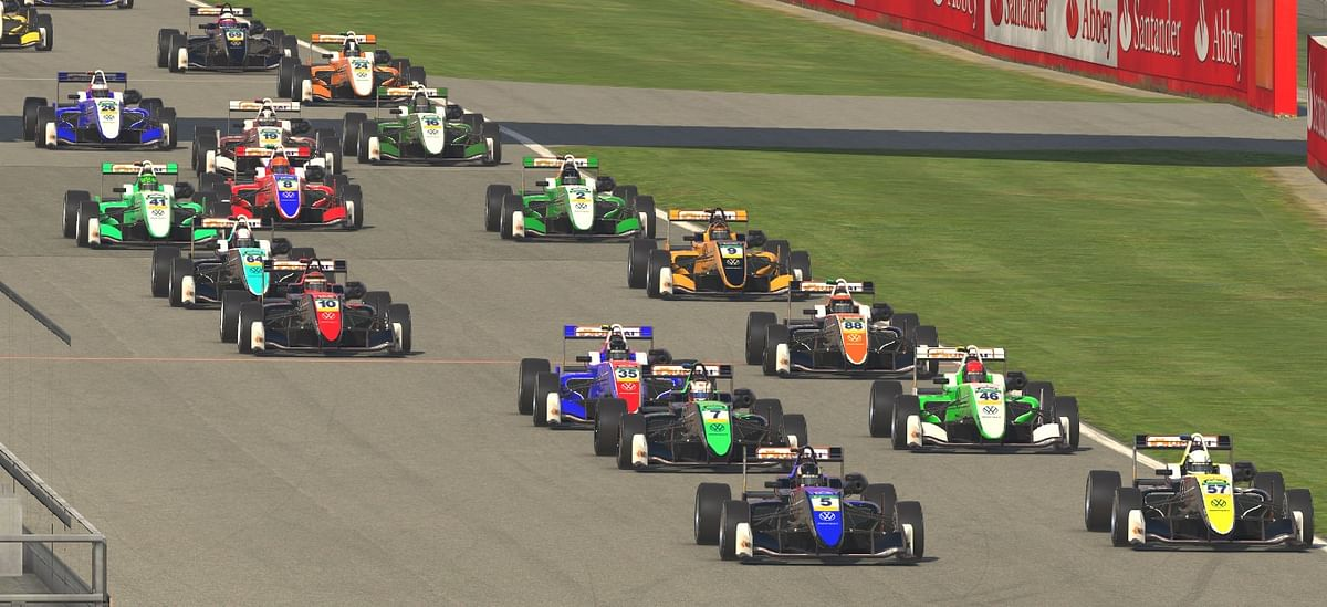 The fifth round of the Indian Sim Racing League was held on Sunday.