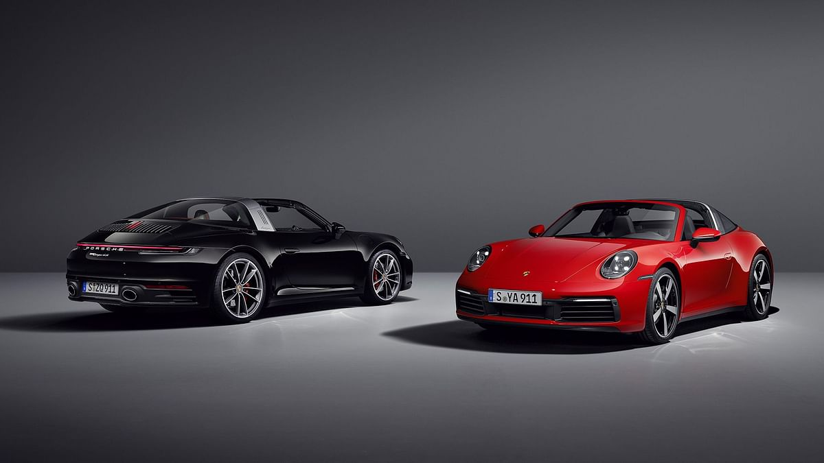 Meet the new generation Porsche 911 Targa!