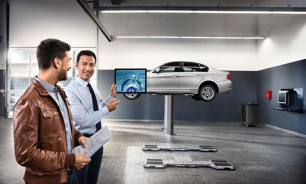 BMW's Extended Care+ is a comprehensive service programme where the car is put through a series of thorough checks.