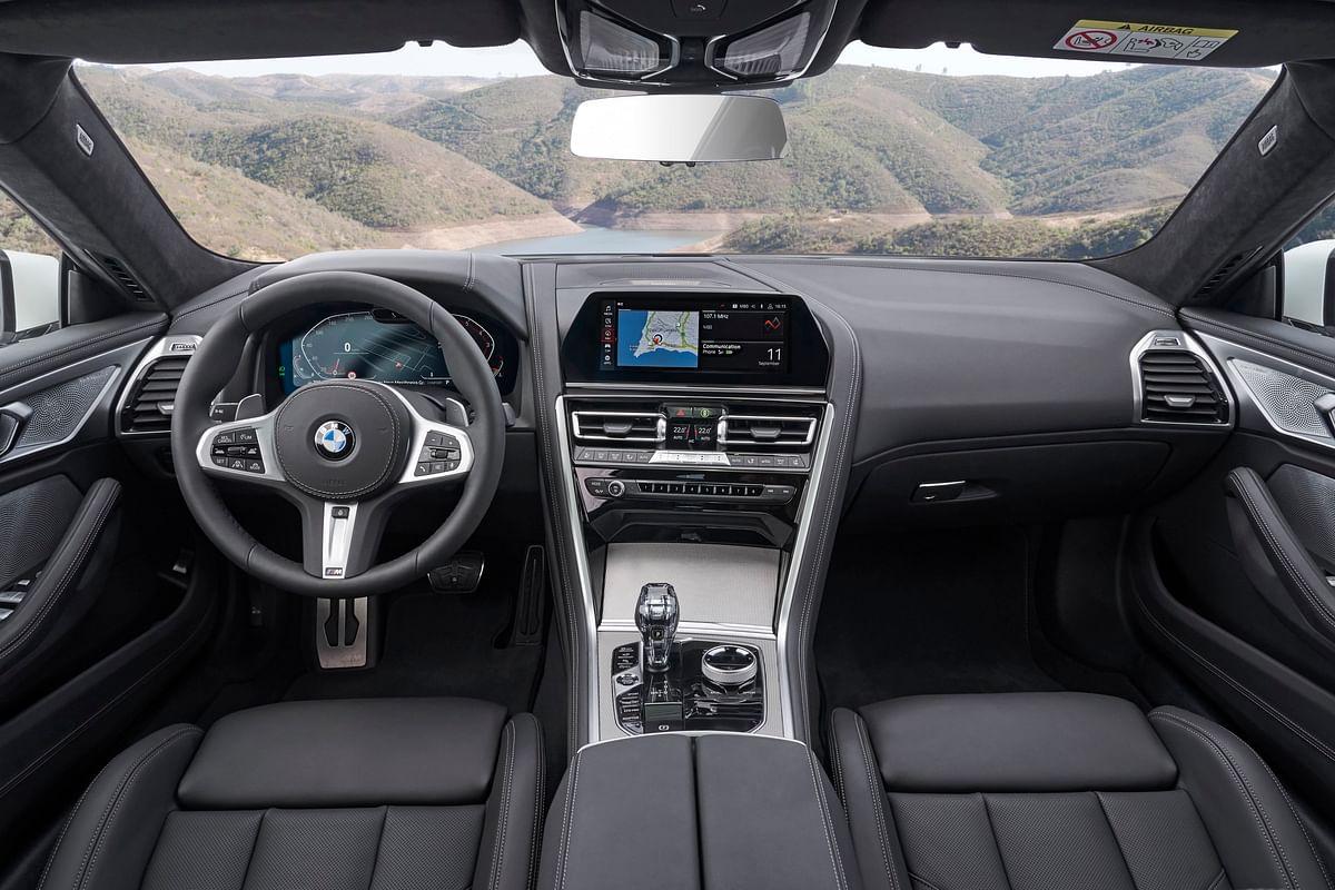 Traditional BMW cockpit