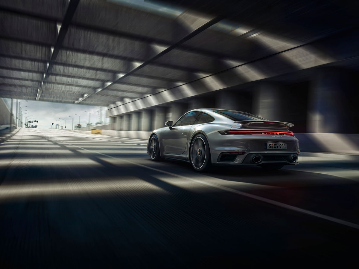 The 911 Turbo S produces 641bhp