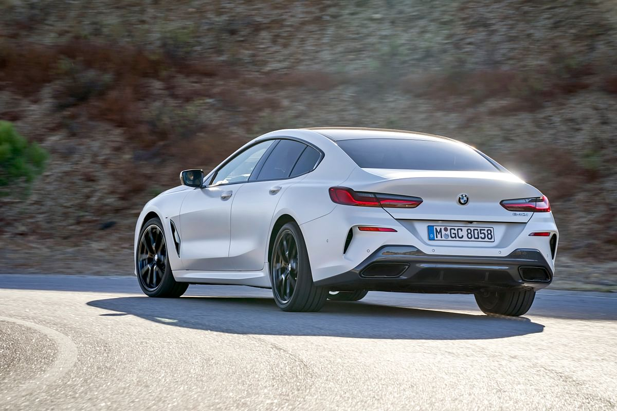 The 8 Series Gran Coupe is the stretched out version of the standard 8 Series Coupe