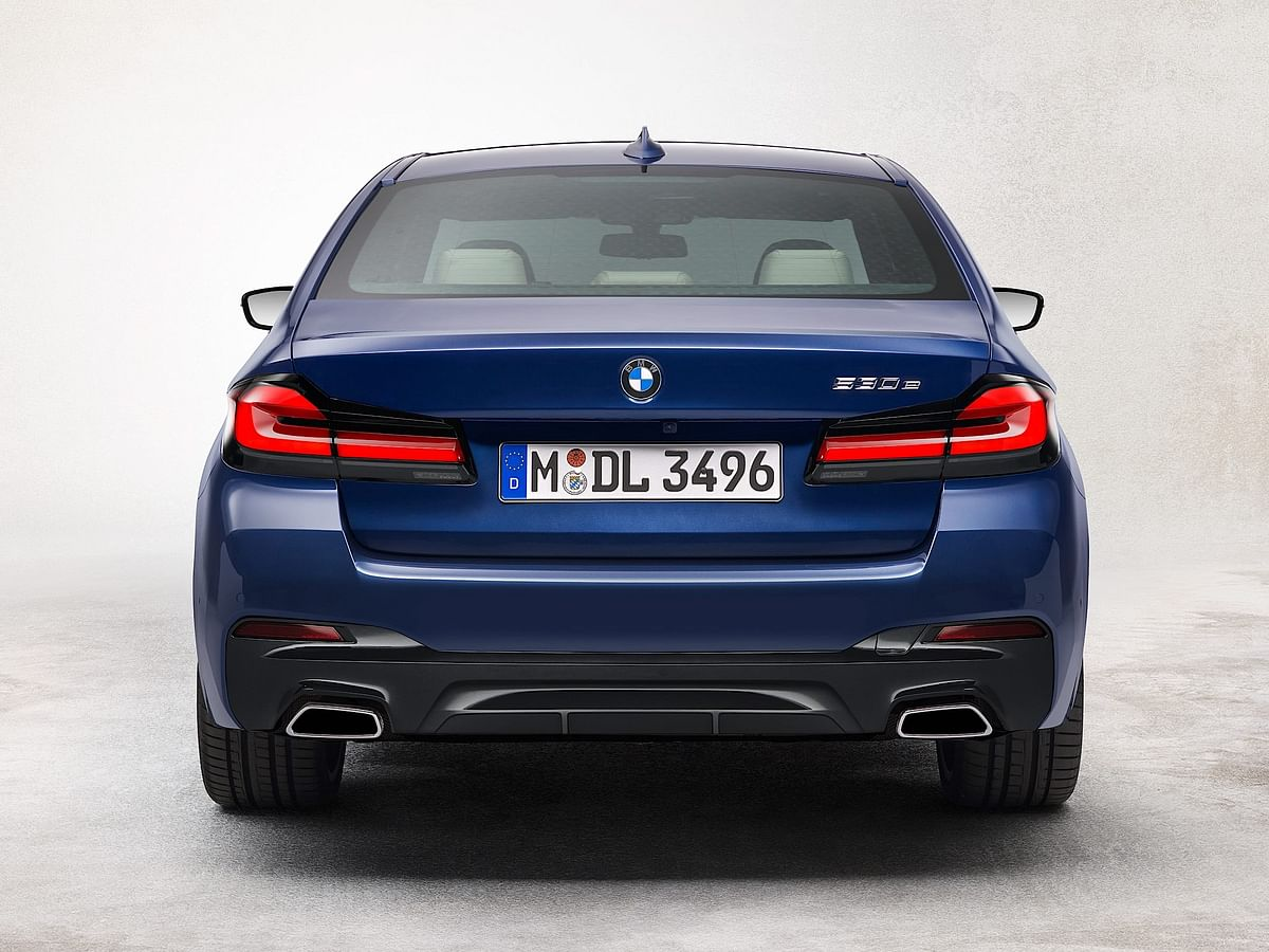 The tail lights resemble that of the latest 3 Series