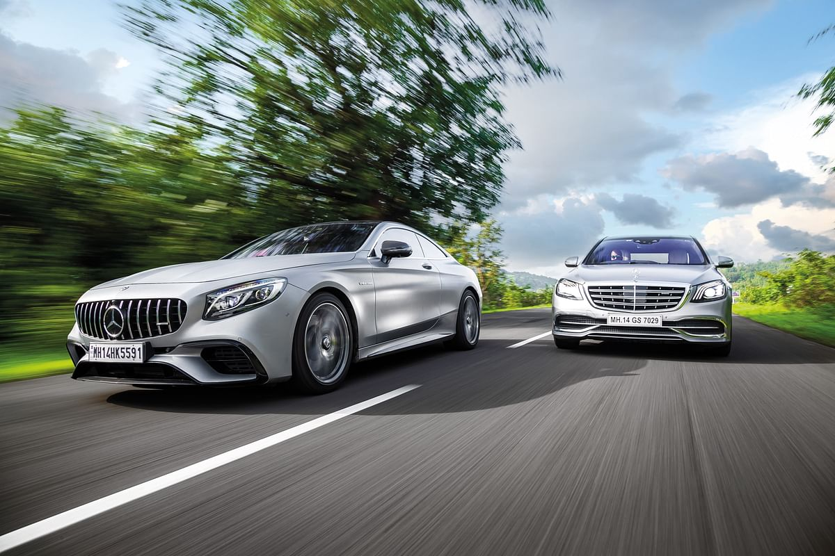 Mercedes-AMG S 63 Coupe and Mercedes-Maybach S 650