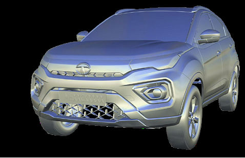 CAS Model of Tata Nexon, viewed left front three quarters