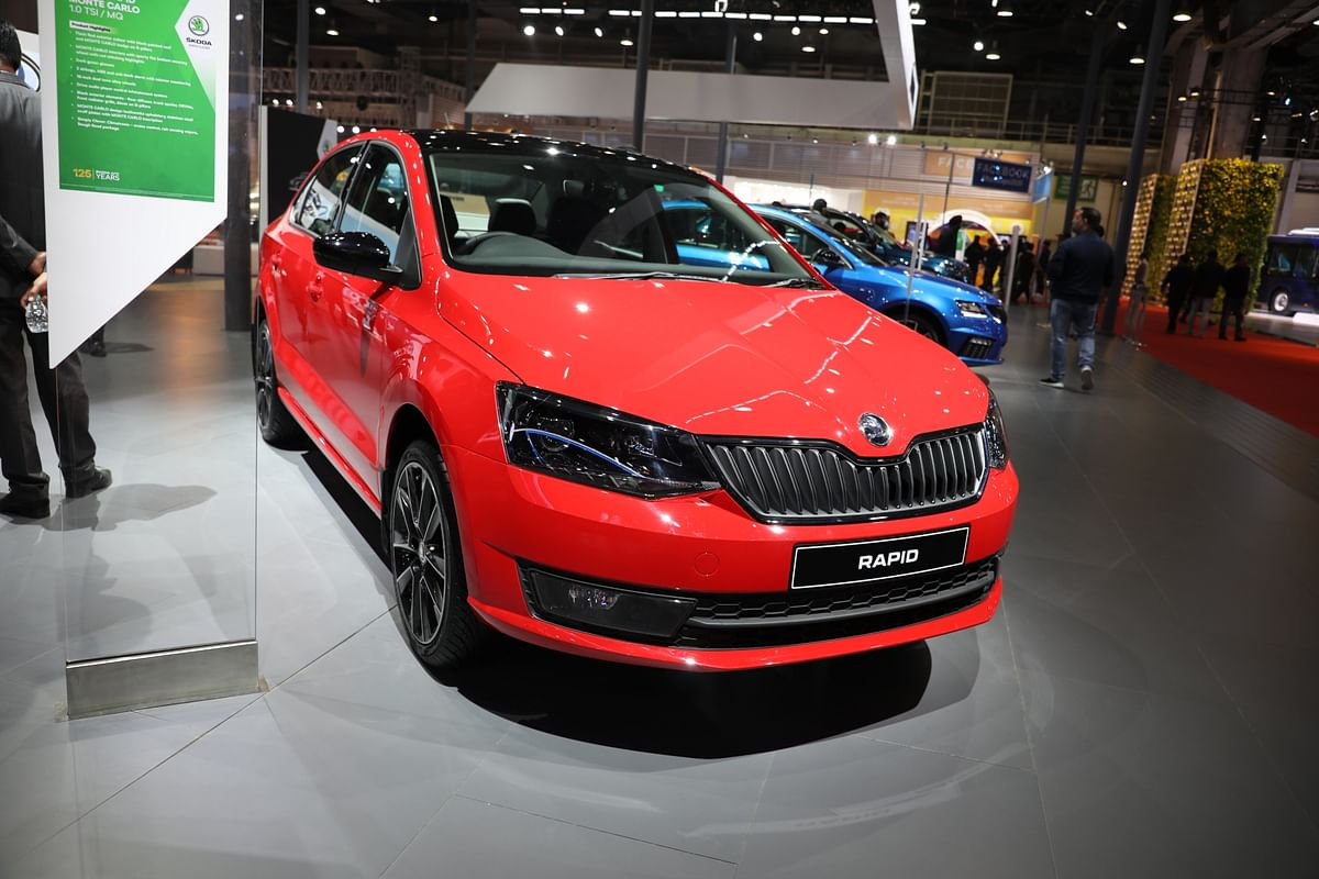 The Skoda Rapid will get minimal cosmetic changes