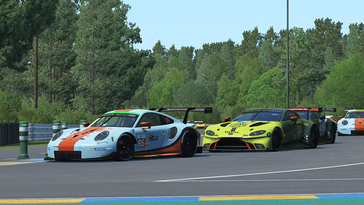 The 24 Hours of Le Mans Virtual race will be held on the rFactor platform