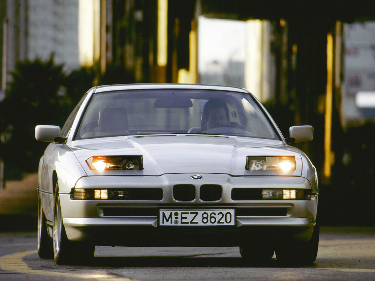 The OG BMW 8 Series was launched in 1990