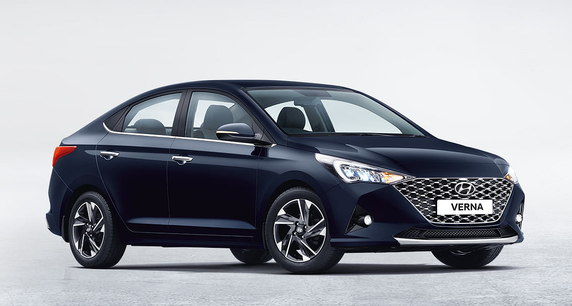 The Hyundai Verna with a BS6 upgrade gets a facelift as well making it the only one in the list to get some changes over its BS4 version.
