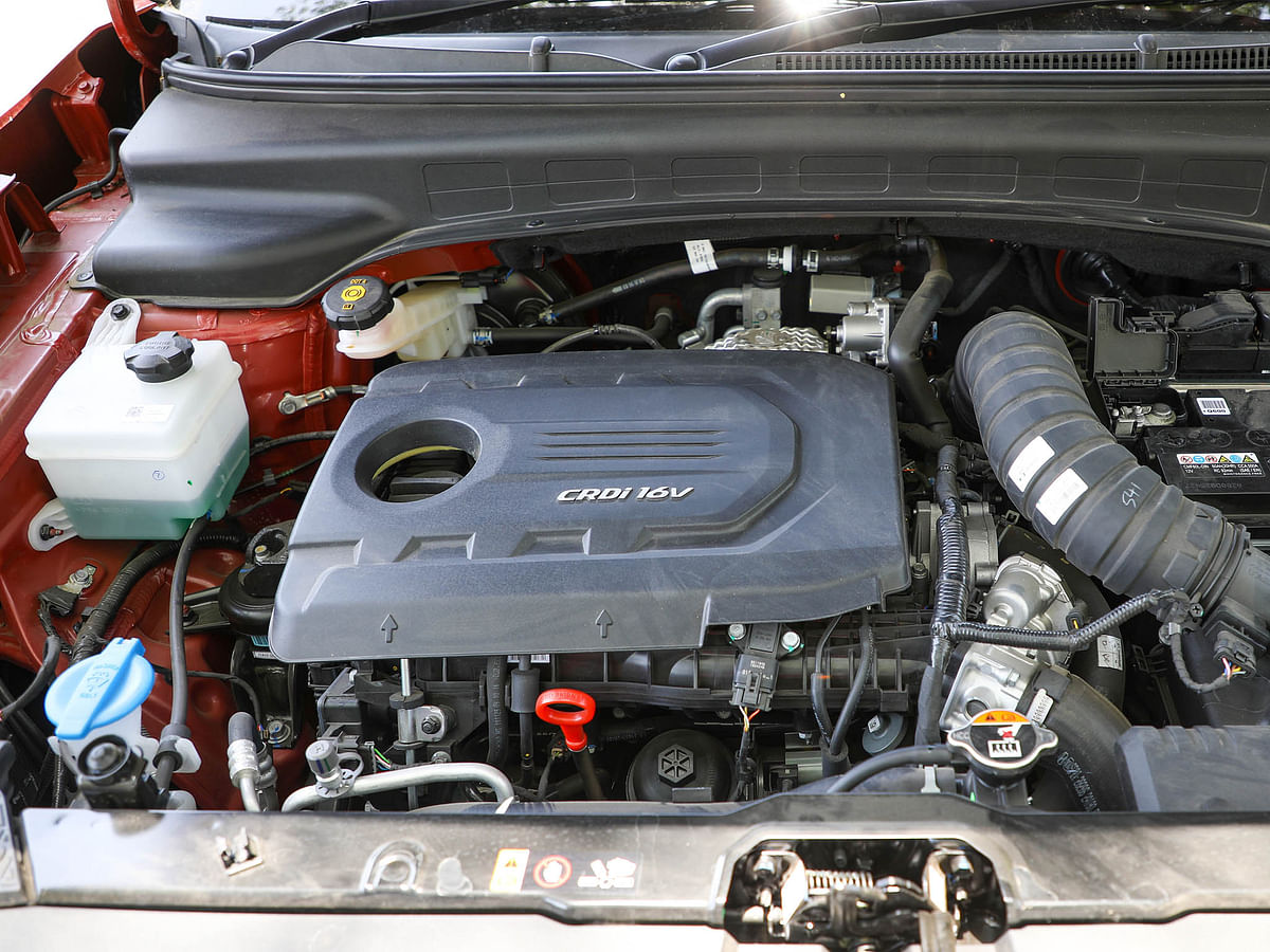 The 1.5-litre diesel engine was first seen on the Kia Seltos