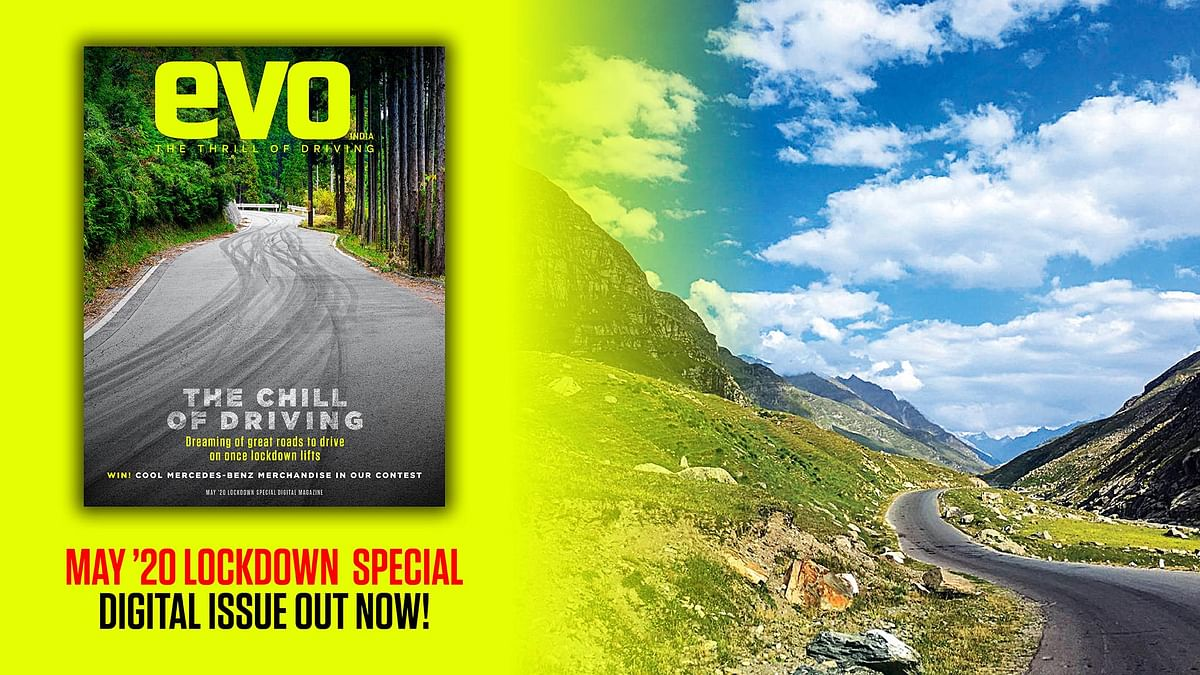 evo India May '20 Lockdown special digital issue is live! Free download!