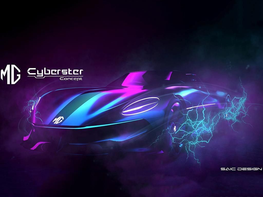 MG teases all-new Cyberster concept