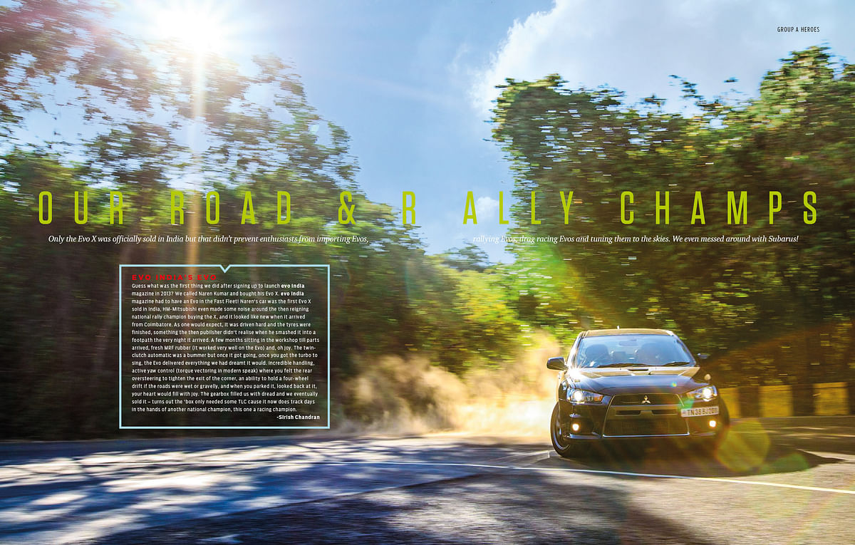 Experiences of Indian enthusiasts and rally drivers