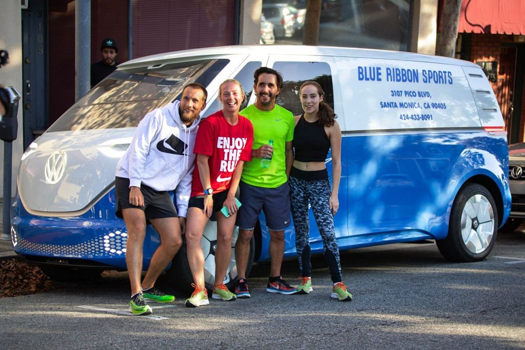 Volkswagen ID. BUZZ Cargo celebrates shared history with Nike
