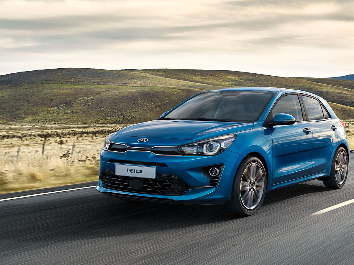Upgraded Kia Rio revealed internationally