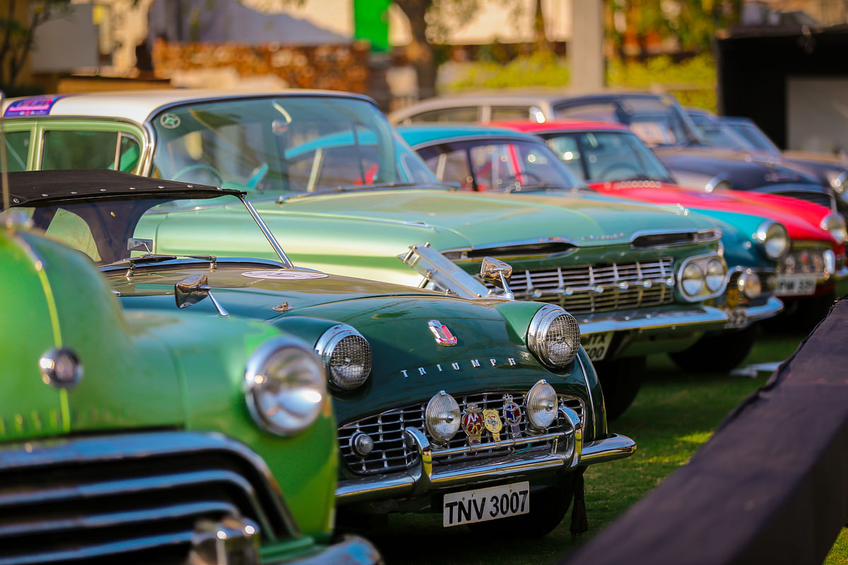 FHVI vintage and classic car show