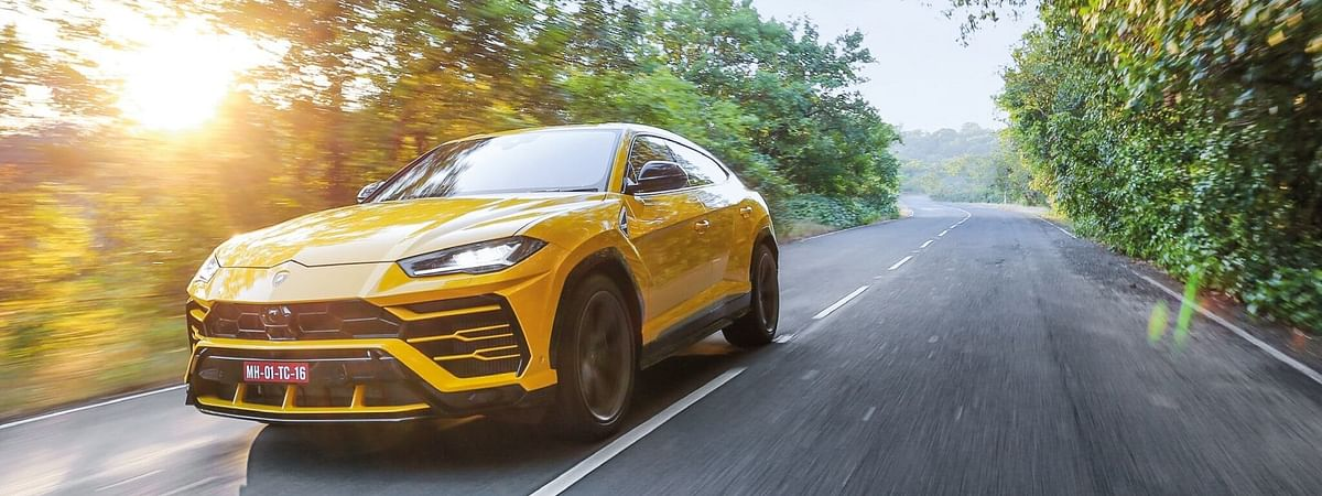 The Lamborghini Urus is the Italian carmakers first ever SUV