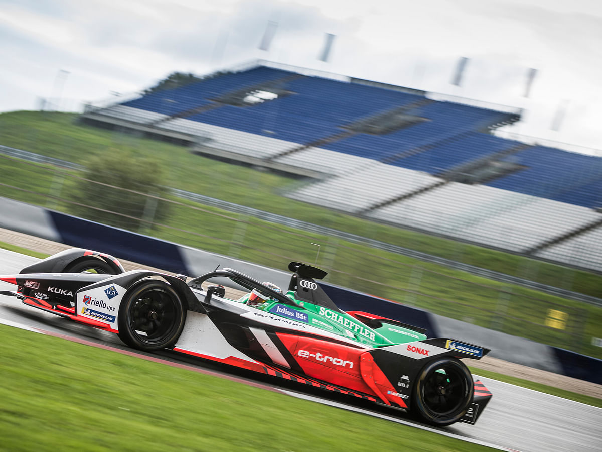 Oliver Rowland and Kevin Siggy take victory in the Formula E Race at Home Challenge, amid controversy